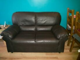 FREE brown 2 seater leather