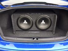 JL Double Sub Woofer and SONY 600W Amp (includes cables) Thornlands Redland Area Preview