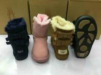 Kids Ugg Bow Boots ( Size 10/3 )