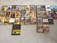 35 Western novels for sale including William W Johnstone