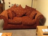2 Sofas Free to a good home. 3 and 2 seater.