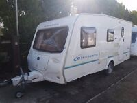Bailey Discovery 200 4 berth caravan 2005 AWNING, Light To Tow, VGC,BARGAIN !