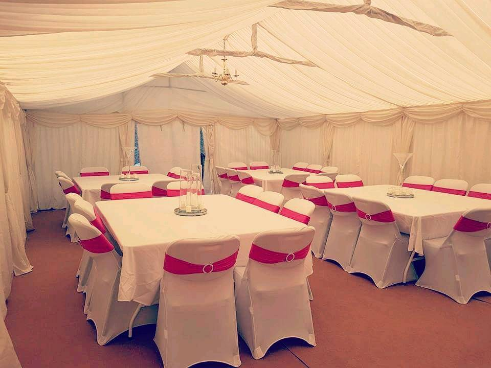 Marquee Hire Chocolate Fountain Candy Floss Wedding Stages