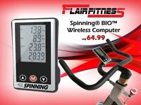 Spinning® BIO™ Wireless Computer ( Spinning / Indoor Cycle / Fitness / Bike )