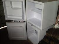 Table top fridge and freezer