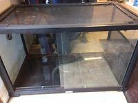 Exo terra style glass vivarium 3ft