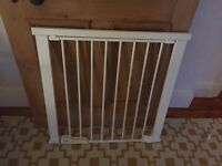 Wide fitting baby gate - The BabyDan Wide Pressure Fit Safety gate - with extensions