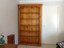 Wooden bookshelf good condition. Lakelands Lake Macquarie Area Preview
