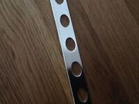 Polished Crome square edge tiles trims