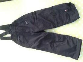 3-4 yrs dare2be black snow trousers, immaculate