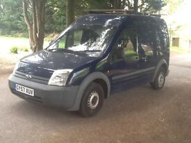 TRANSIT CONNECT LW BASE T230 L90 1.8 TDI HIGHROOF S/HISTORY+£4312.50 WORK INVOICES MOTSEPT17/1 OWNER