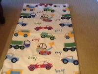 Kids bedroom curtains (professionally made)