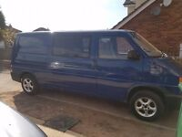 vw t4 transporter project