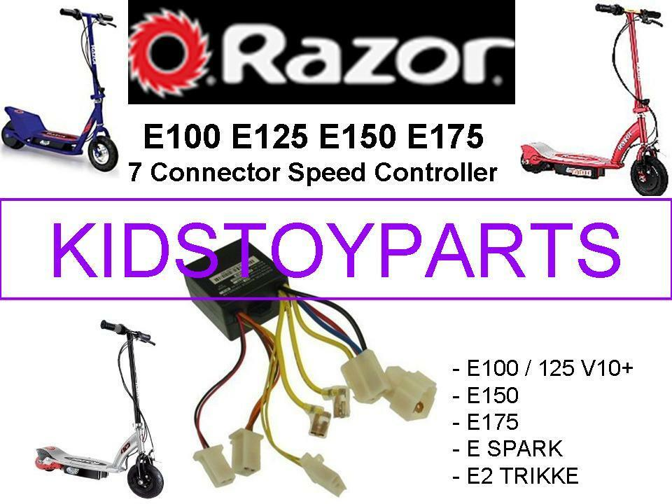 Razor E100 Controller Repair