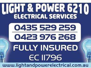 LIGHT & POWER 6210 Electrician Mandurah, Lakelands, Pinjarra Greenfields Mandurah Area Preview