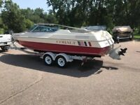 1988 Cobalt 222 bow rider great condition 2 owner boat NO RESERVE