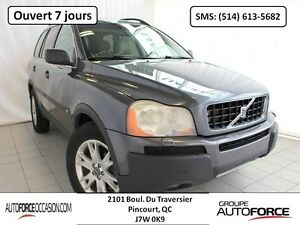 2006 Volvo XC90 AWD 7 PASS CUIR TOIT TURBO MAGS