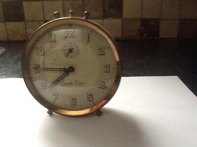 vintage tin smiths alarm clock spairs repairs