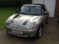 2008 Mini Cooper 1.6 3 door Manual Petrol Sparkling Silver 1 Lady Owner from New with Pepper Pack !!