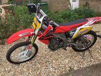 04 honda crf 450r ex pulse race show bike very clean