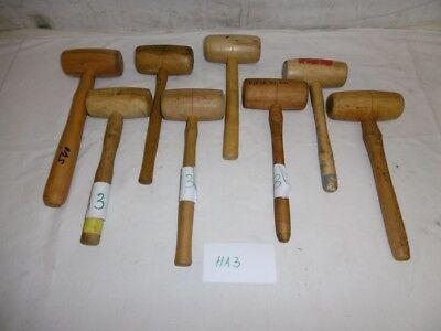 HA3 1x  Holzhammer 330mm Ø 55mm Hammer ex BW Bundeswehr