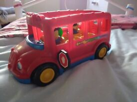 Fisher Price red bus