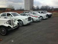 Cheap Wedding Cars Hire Warrington / Rolls Royce Hire warrington / Vintage wedding cars hire