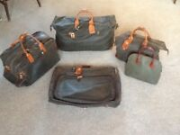 Brics 'Life' 5 Piece Luggage Set. Used but in generally good condition for sale from owner from new.