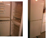PLEASE RING AND TEXT FIRST PROLINE FROST FREE FRIDGE FREEZER 70 INCHES HIGH X 23 INCHES WIDE