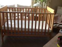 Mamas And Papas Cot Toddler Bed