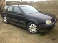 Mk4 golf estate 2.0 breaking