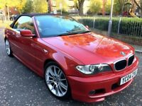 bmw 318ci m sport convertible 2004 manual imola red