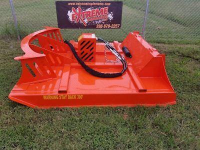72 Xbc-8 Extreme Skid Steer Brush Cutter-3 Blade Double Flywheel-carbide Teeth
