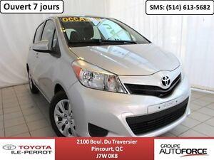 2014 Toyota Yaris LE, 5 PORTES, A/C, GR ÉLEC, BLUETOOTH