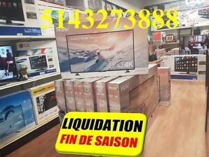 CENTRE DE LIQUIDATION MONTREAL LAVAL TV SAMSUNG, LG, HAIER SONY