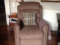 Dual Motor Rise & Recline chair.Immaculate condition.