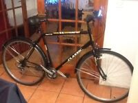 £50 brand new condition suit tall person 27 wheel 22 frame 18 gears can deliver for petrol cost