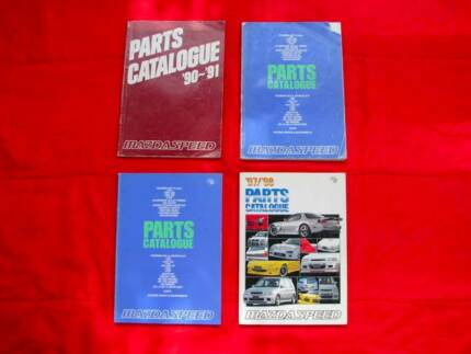 JDM Mazdaspeed Parts Catalogues from 90 to 97 Mazda RX7 MX5 323