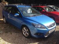 ** NEWTON CARS ** 09 FORD FOCUS 1.8 TDCI ESTATE, GOOD OVERALL, 79,000 MLS, FULL MOT SUPPLIED, CALL