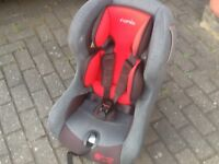 Terrific lightweight group0+1 car seat for newborn upto 18kg(upto 4yrs)excellent condition