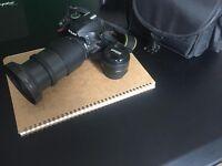 Nikon D3200 + lots of extras