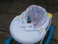 Baby walker -seat has been washed-£5