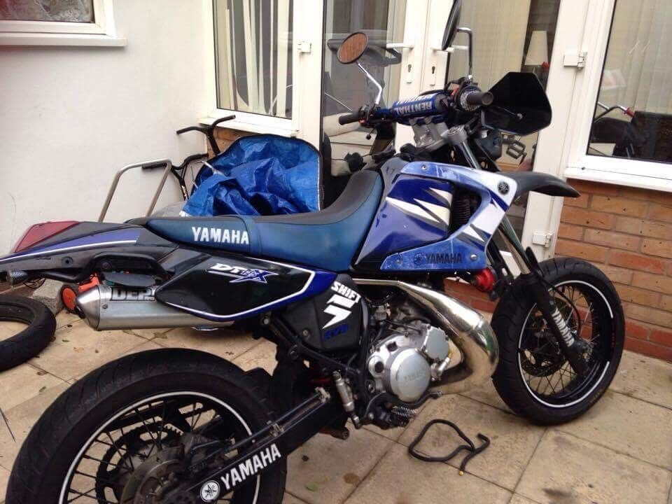 yamaha dt 125 x supermoto 07 in halesowen west midlands. Black Bedroom Furniture Sets. Home Design Ideas