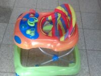 Baby walker in great condition-£10