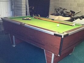 Grab a Bargain! Full size traditional Pub style Pool Table.