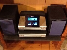 Pioneer cd/ tape stereo player with remote