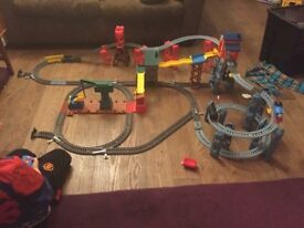 Thomas Tank Engine trackmaster. 'Mad dash on Sodor'