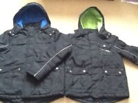Boys black coat age 7-8 and 9-10