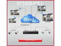 AHD CCTV DVR EMAIL REPORTING HARD DRIVE CLOUD NV P2P ON MOBILE, TABLETS,Dome Cameras FULL HD