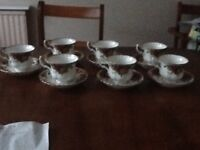 Country Roses Tea cups and saucers